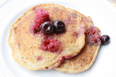 Whole Wheat Pancakes from Scratch