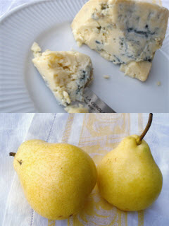 Pear and Blue Cheese Pizza